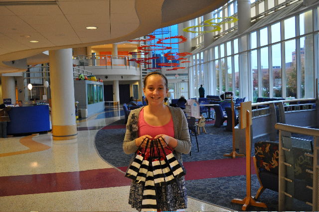 Leanne delivers gifts to Duke Children's Hospital ...